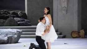 Ensayo de escena con el primer reparto de Rusalka, de Antonin Dvorák.