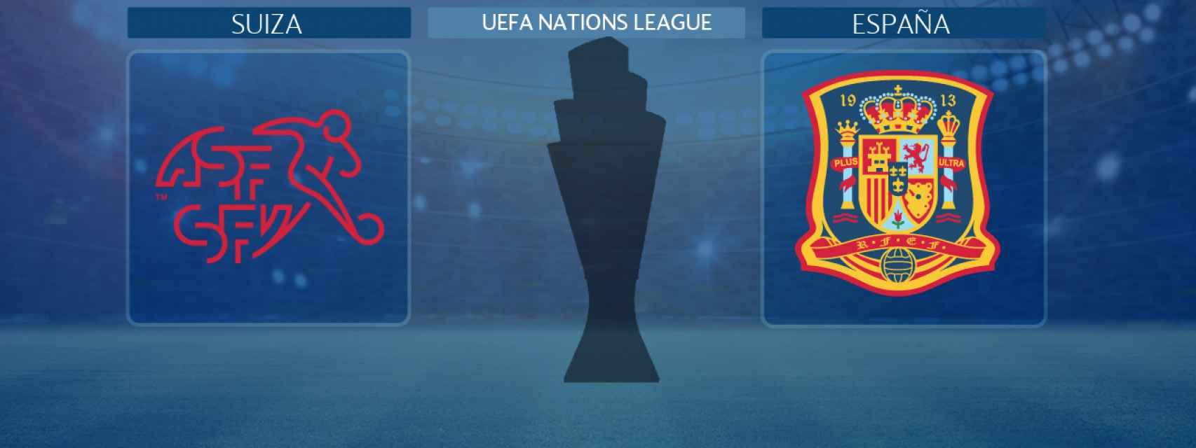 Suiza - España, partido de la UEFA Nations League