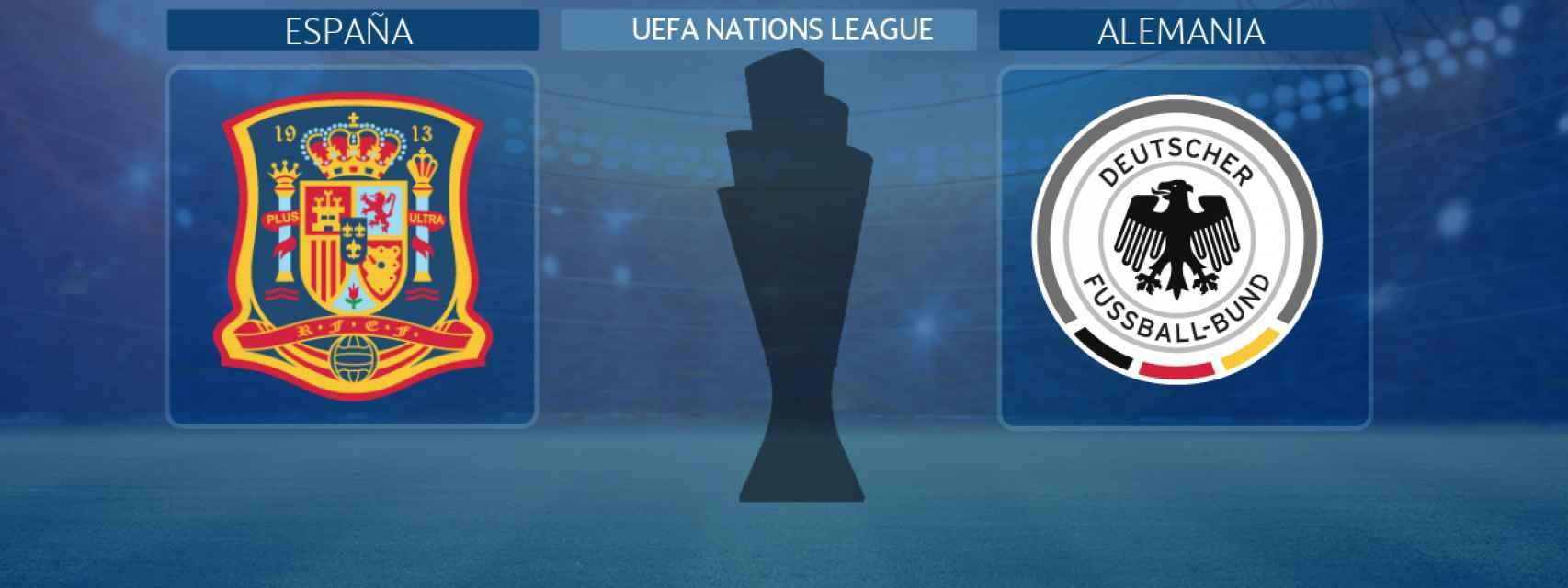 España - Alemania, partido de la UEFA Nations League