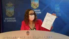 La segunda teniente de alcalde y concejala de Relaciones con los Medios en el Ayuntamiento de Guadalajara, Sara Simón