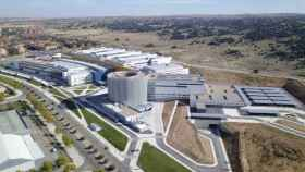Vista aérea del nuevo Hospital Universitario de Toledo