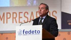 Ángel Nicolás, presidente de la Confederación Empresarial de Castilla-La Mancha