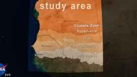 El área geográfica de este estudio.