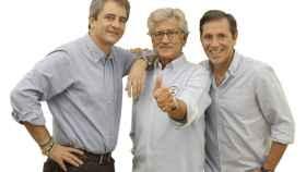 Manolo Lama, Pepe Domingo Castaño y Paco González, en una foto oficial de COPE.