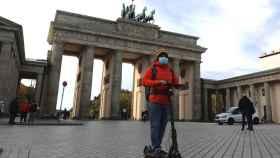 Así están las calles de Berlín durante la segunda ola.