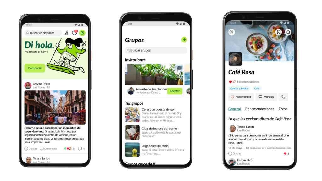Nextdoor, una app para conocer lo que pasa en tu barrio.