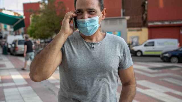 Juan Antonio Collantes, uno de los vecinos de Nextdoor.