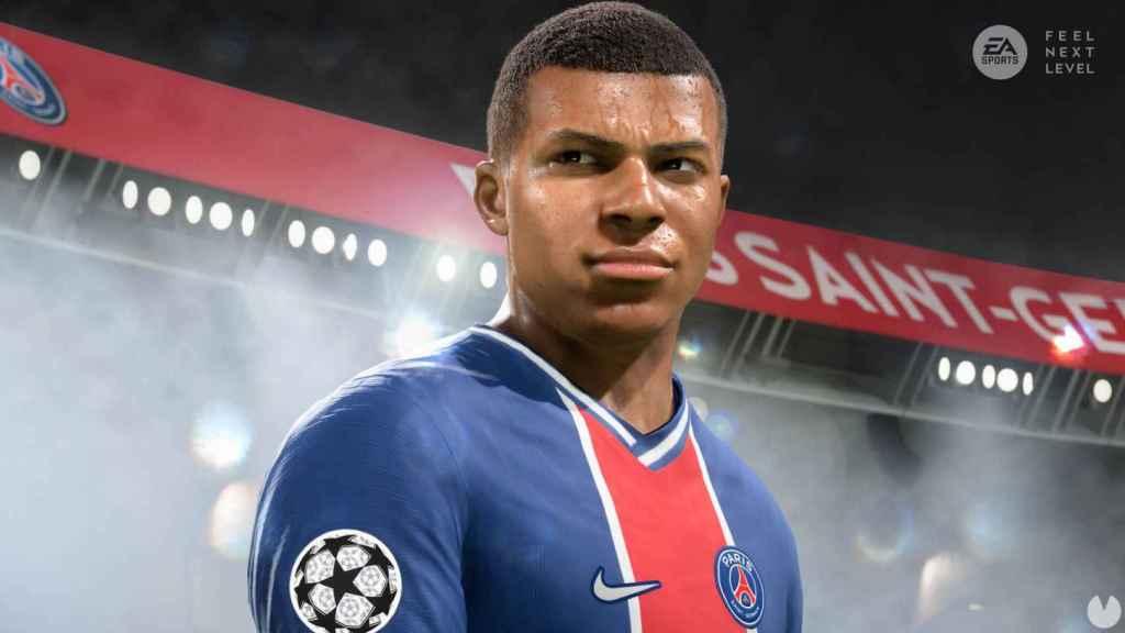 Kylian Mbappé, en FIFA 21 de 'next gen'