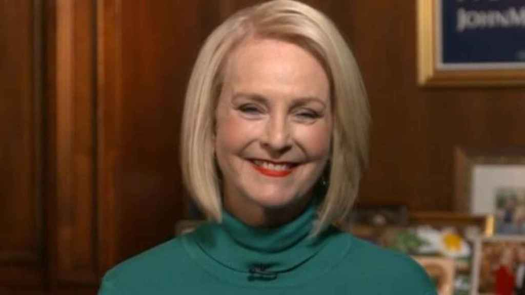 Cindy McCain, en una entrevista reciente.