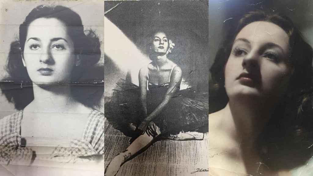 Retratos de una joven Marta González extraídos de su archivo personal.