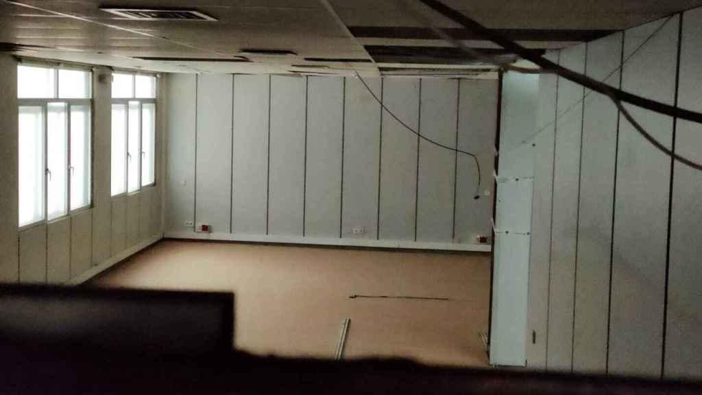 Interior del piso donde Marta tuvo una escuela.