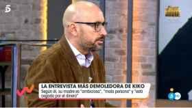 Diego Arrabal durante su regreso a 'Viva la vida'.