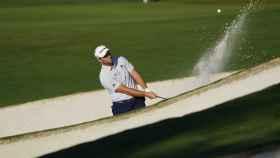 Jon Rahm, en el Masters de Augusta