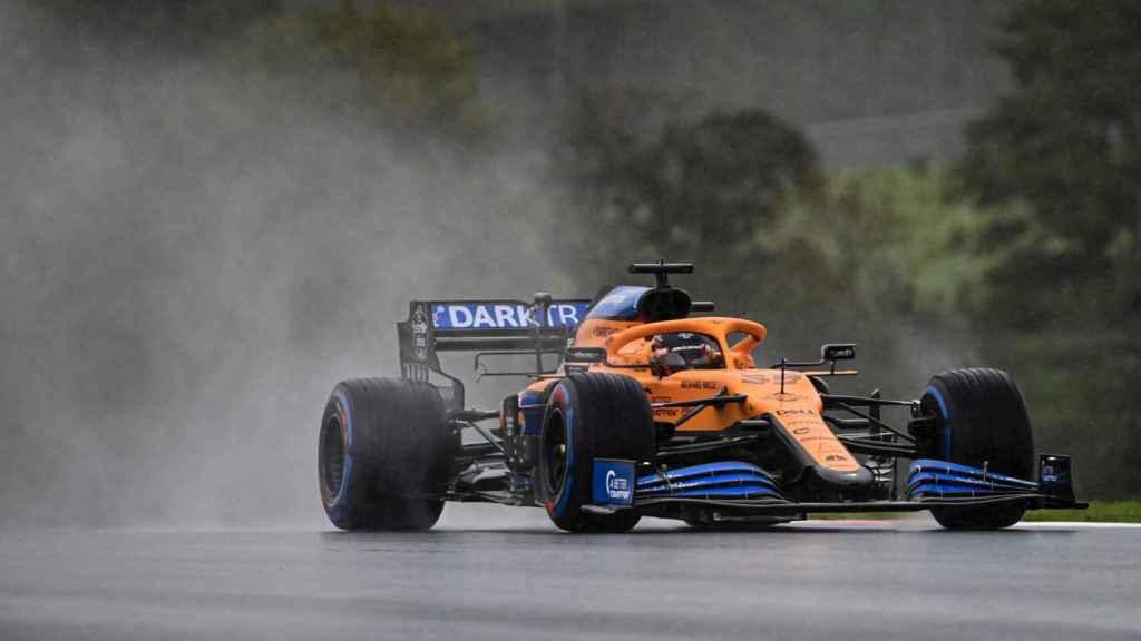 Carlos Sainz en el GP de Turquía