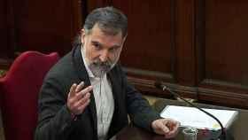 Jordi Cuixart, durante el juicio del 'procés'.