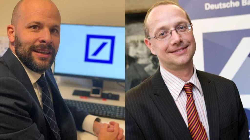 Baruc Fernández y Wolfgang Kania (Deutsche Bank España).