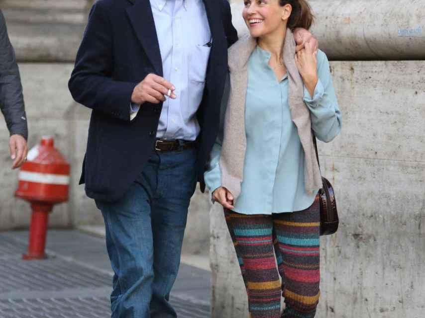 Alessandro Lequio y María Palacios en una imagen de archivo.