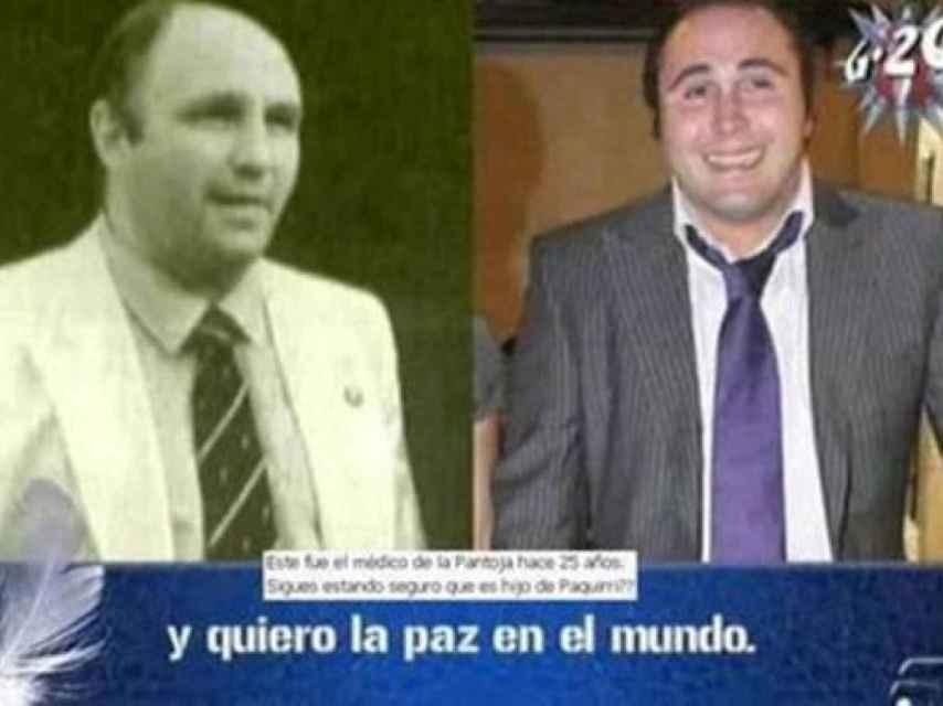 Una comparativa entre Cariñanos y Kiko que Telecinco ofreció hace años.