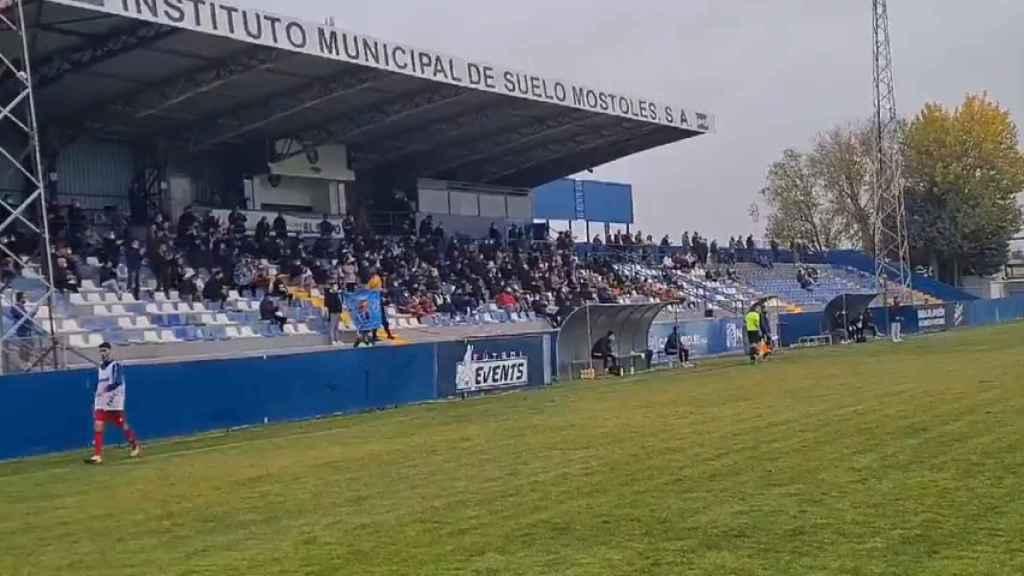 Estadio del Móstoles CF, equipo de Tercera