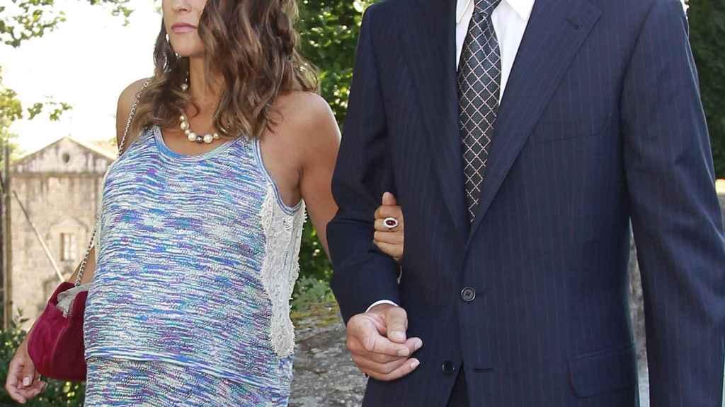Alessandro Lequio y María Palacios en una imagen fechada en julio de 2016.