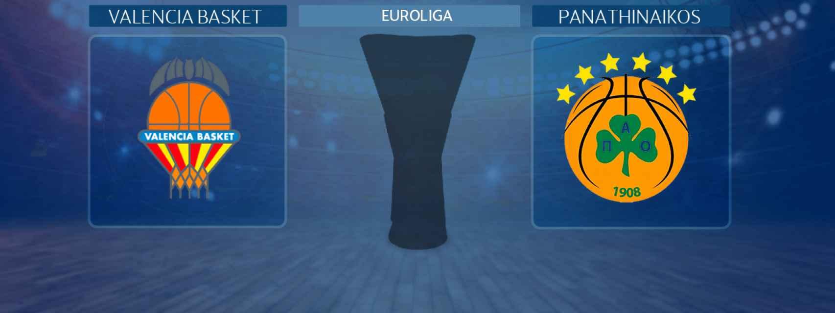 Valencia Basket - Panathinaikos, partido de la Euroliga