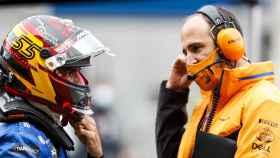 Carlos Sainz en el Gran Premio de Turquía