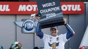 Joan Mir, campeón de mundo de MotoGP