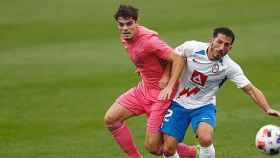 Una imagen del   Rayo Majadahonda - Real Madrid Castilla
