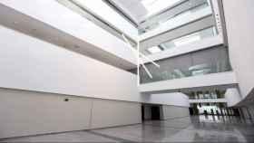Interior del nuevo Hospital de Toledo