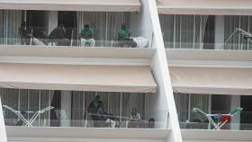 Cientos de inmigrantes llegados en patera a Gran Canaria permanecen instalados en hoteles de la isla.