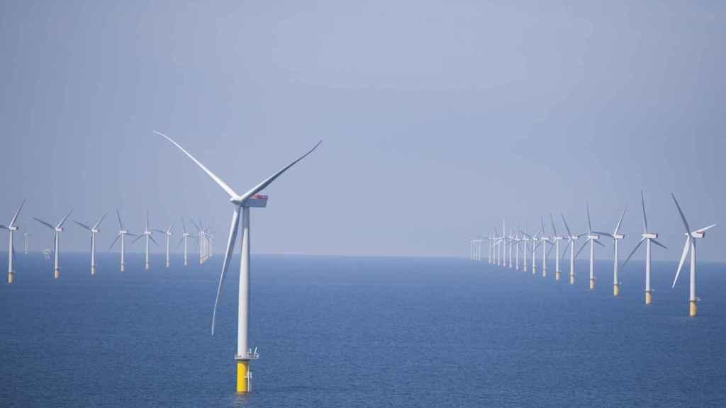 Parque eólico marino de Scottishpower (Iberdrola)