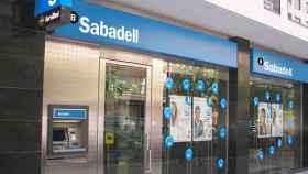 Una sucursal de Banco Sabadell.