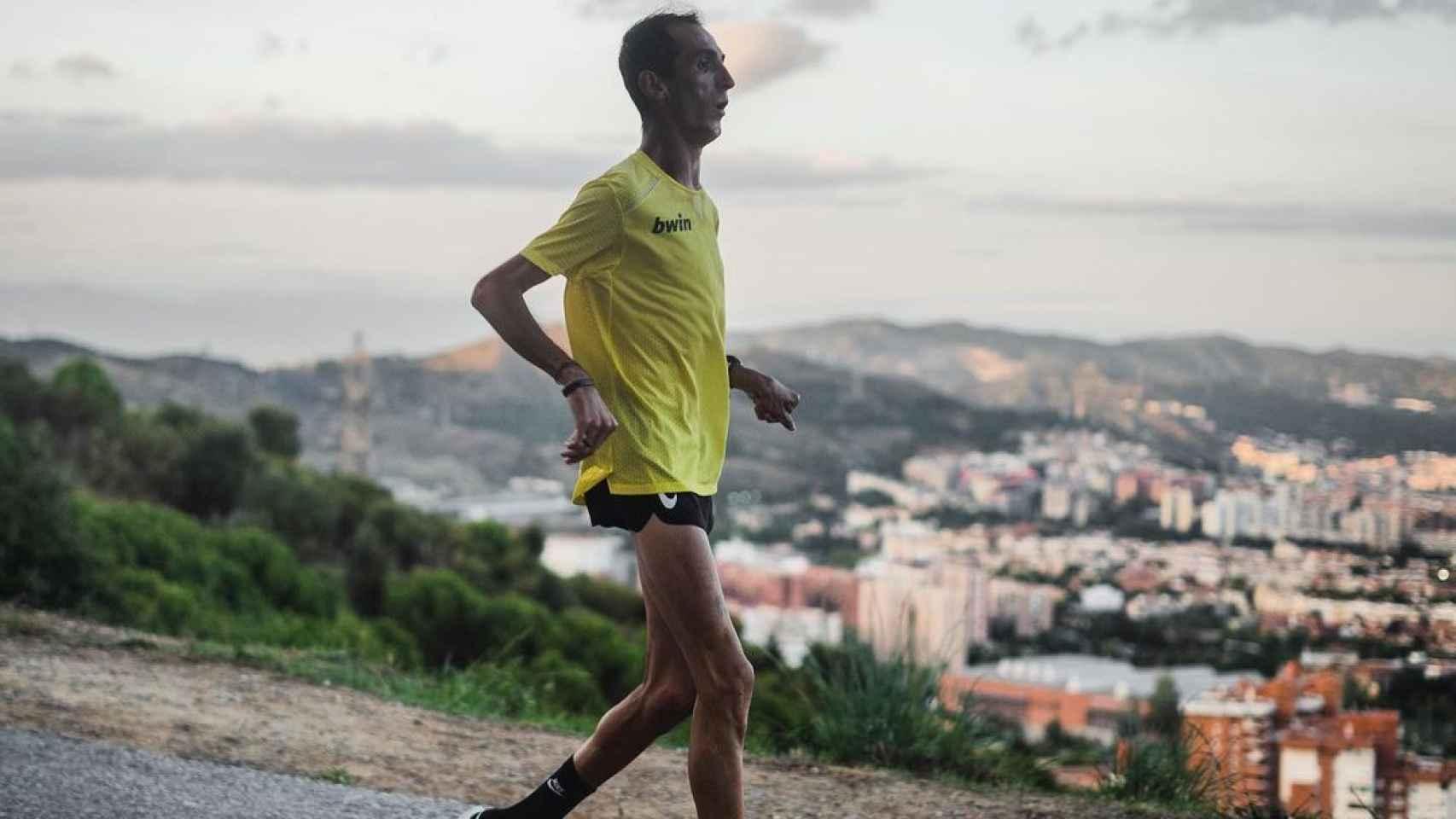 Álex Roca, el atleta con un 76 por ciento de parálisis cerebral. Foto: Instagram (alexroca91)