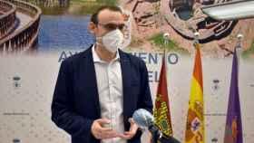 Jesús David Sánchez de Pablo, concejal de Hacienda y portavoz en el Ayuntamiento de Daimiel