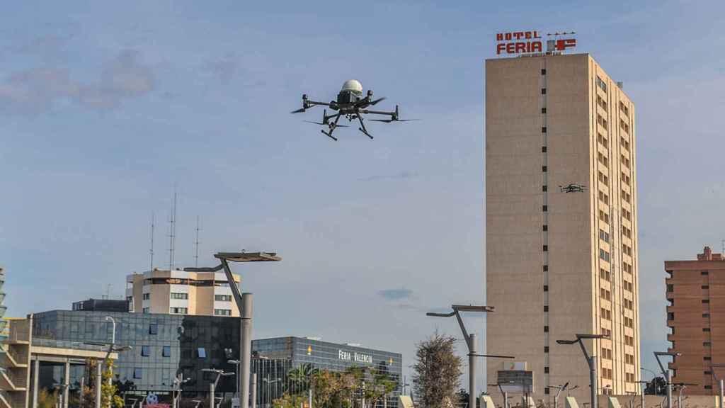 Covid: drones para transportar material sanitario en España frente al coronavirus