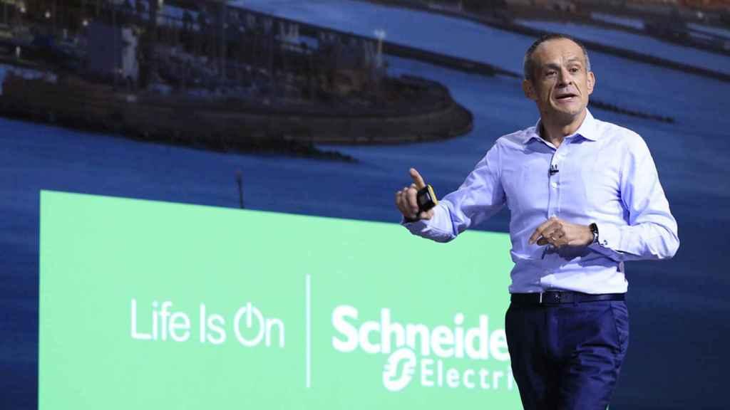 El CEO de Schneider Electric, Jean-Pascal Tricoire.