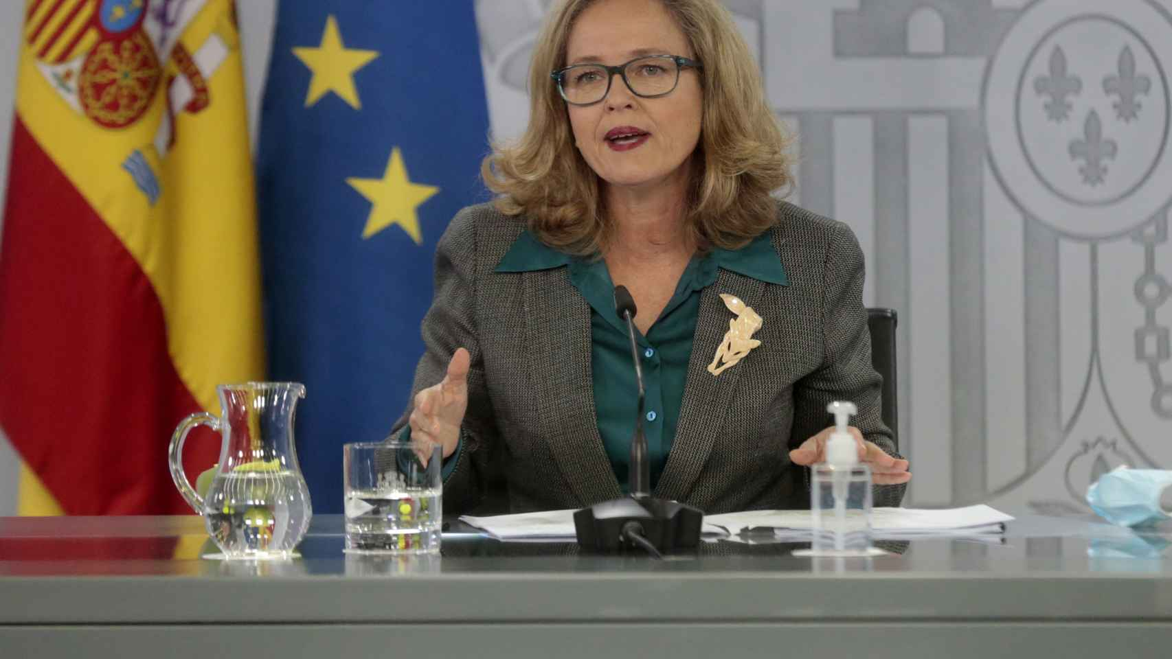 Nadia Calviño, vicepresidenta Tercera y ministra de Economía.