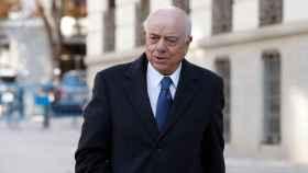 Francisco González a la salida de la Audiencia Nacional.