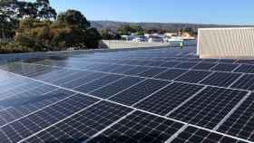 Paneles solares.