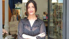 Laura Riñón, la propietaria de la librería 'Amapolas en octubre'.