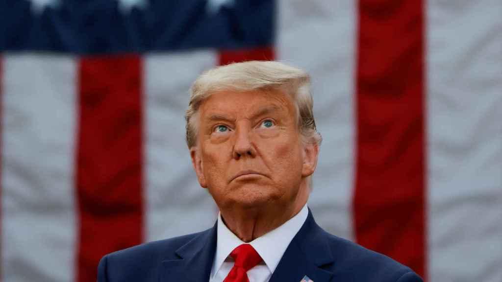Donald Trump durante un evento en la Casa Blanca.