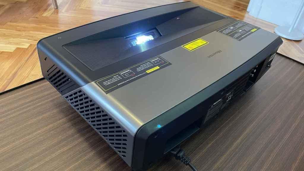 Laser TV 100l5f-a12 de Hisense