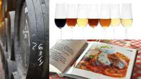 Distintos vinos de Jerez. Foto: pidjoe (iStockPhoto)