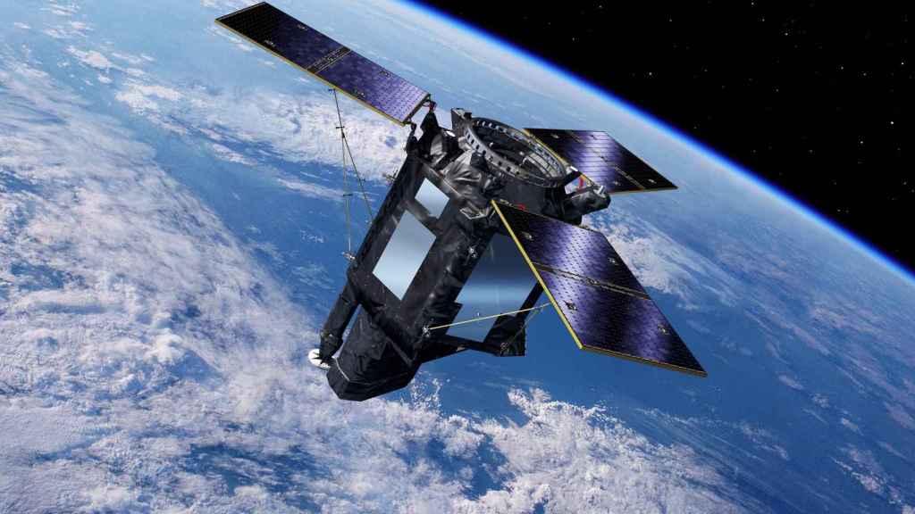 Ilustración facilitada del satélite español Seosat-Ingenio.