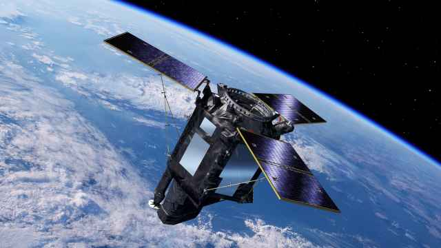 Ilustración del satélite español Seosat-Ingenio.