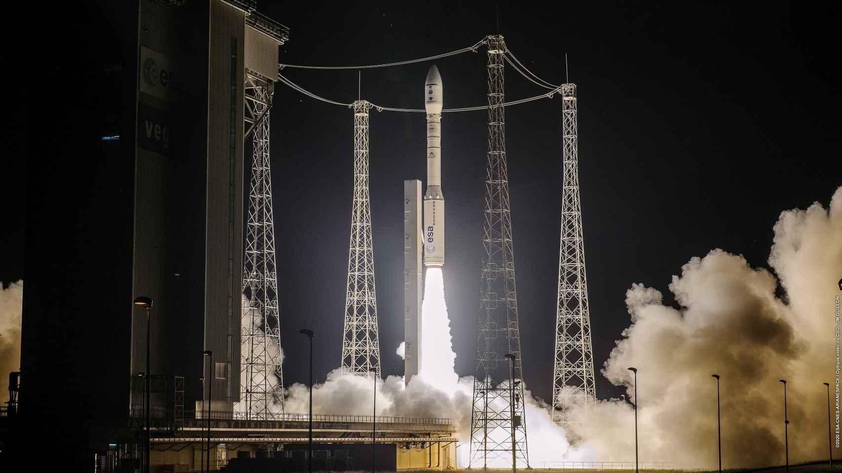 Lanzamiento satélite Ingenio