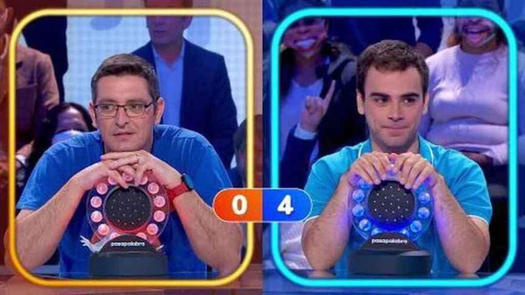 Luis de Lama y Pablo Díaz ya son dos de los rivales más competitivos de la historia de 'Pasapalabra'.