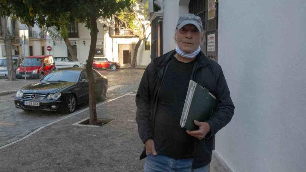 Francisco Holgado, 25 años después del asesinato de su hijo en Jerez.