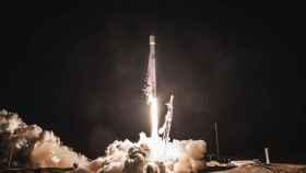 Lanzamiento satélite PAZ en un Falcon 9