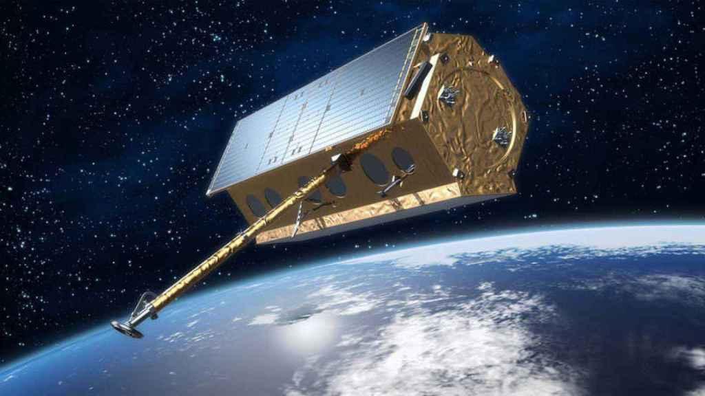 Representación del satélite PAZ